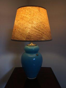 Holmegaard Turquoise Lamp
