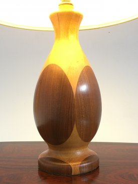 Fruit Wood Table Lamp