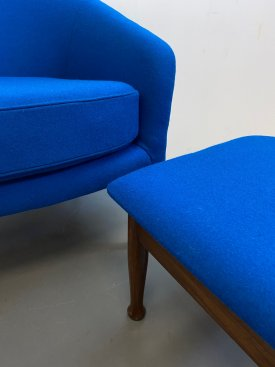Guy Rodgers Chair & Footstool