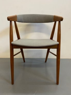 Danish Grey Armchair