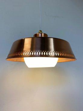 Perforated Copper Pendant