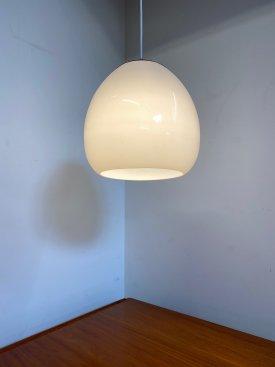 Large Opaline Dome Pendant