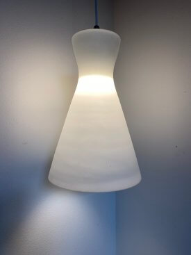 Opaline Cone Pendants