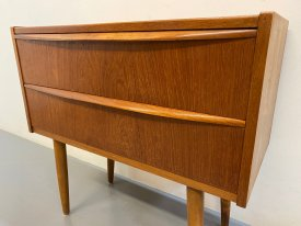 Lipped Handle 2 Drawer Chest