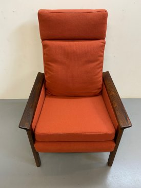 Hans Olsen Rosewood Chair