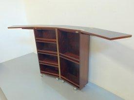 Rosewood Folding Bar