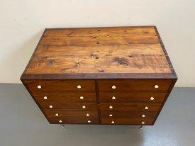 1940's 10 Drawer Cabinet