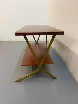 1950's French 2 Tier Table
