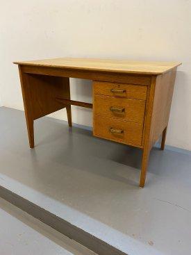 1950's Solid Oak Desk