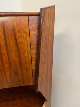 Danish Rosewood Corner Bar