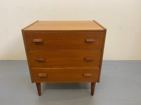 Danish Paddle Handle Chest