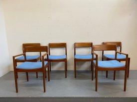 British Teak Dining Chairs