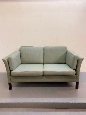 Danish Moss Green Sofa