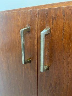 Danish Teak 2 Door Cabinet