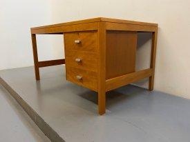1960's British 3 Drawer Desk
