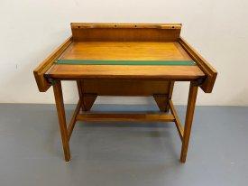 1950's Oak Desk/Drafting Table