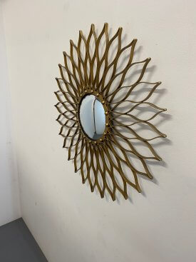 Sunburst Convex Mirror
