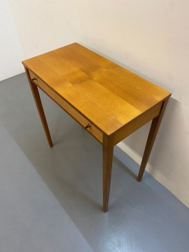 British Teak Console Table