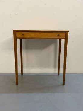 British Teak Console Table
