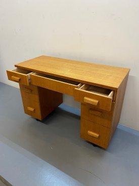 1950's British Oak Small Desk