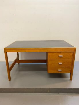1960's British 3 Drawer Desk