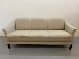 Danish Cream Wool Sofa