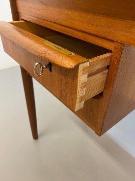 Danish Teak 2 Drawer Desk