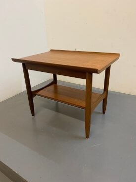 Danish Pagoda Top Side Table