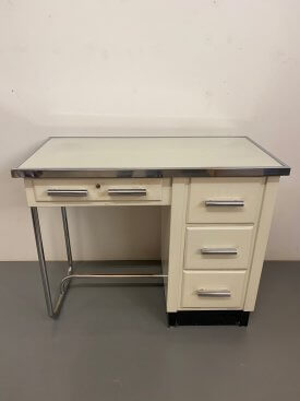 1950's French Pharmacy Desk
