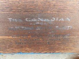 1930's Canadian Cast Iron Shelves