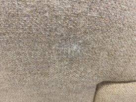 Danish 4 Seat Wool Sofa