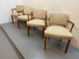 1950's Oak Armchairs