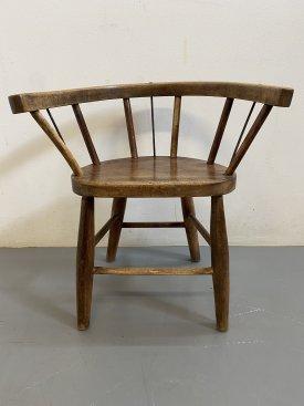1930's Oak Children's Chairs