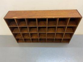 Smaller Teak Sorting Shelves