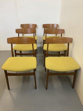 1960's Danish Dining Chairs