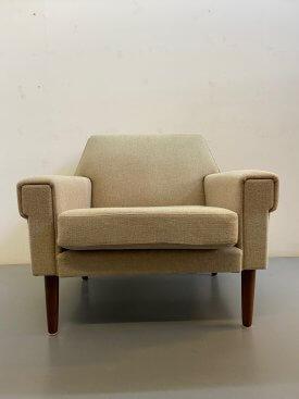 Oatmeal Wool Armchair