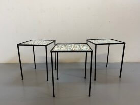 1950's French 'Terazzo' Tables