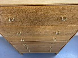 1950's Stag Oak Chest