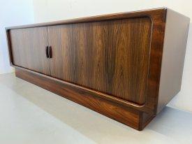 Dyrlund Rosewood Tambour Sideboard