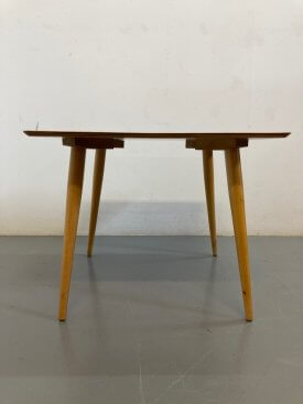 1950's British Square Side Table