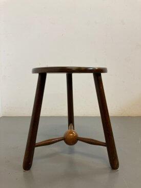 1950's British Cricket Table/Stool