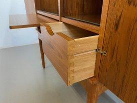 Danish Teak Bar Cabinet