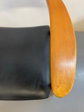 Danish Solid Beech Armchair