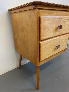 1950's Birch Ply Desk