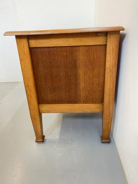 1930's Solid Oak Clerks Desk