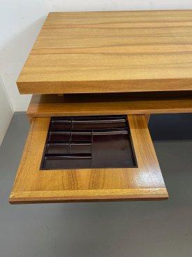 1960's French Walnut Desk