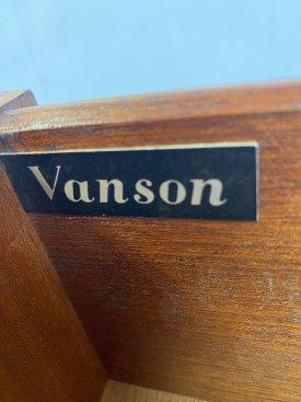 1960's Vanson Mahogany Chests