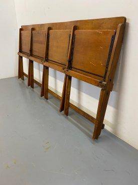 1950's Folding Bench