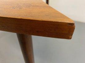 Teak Shield Table
