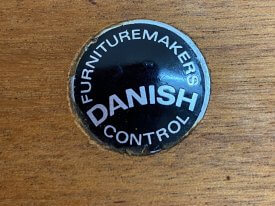 Danish Rectangular Coffee Table